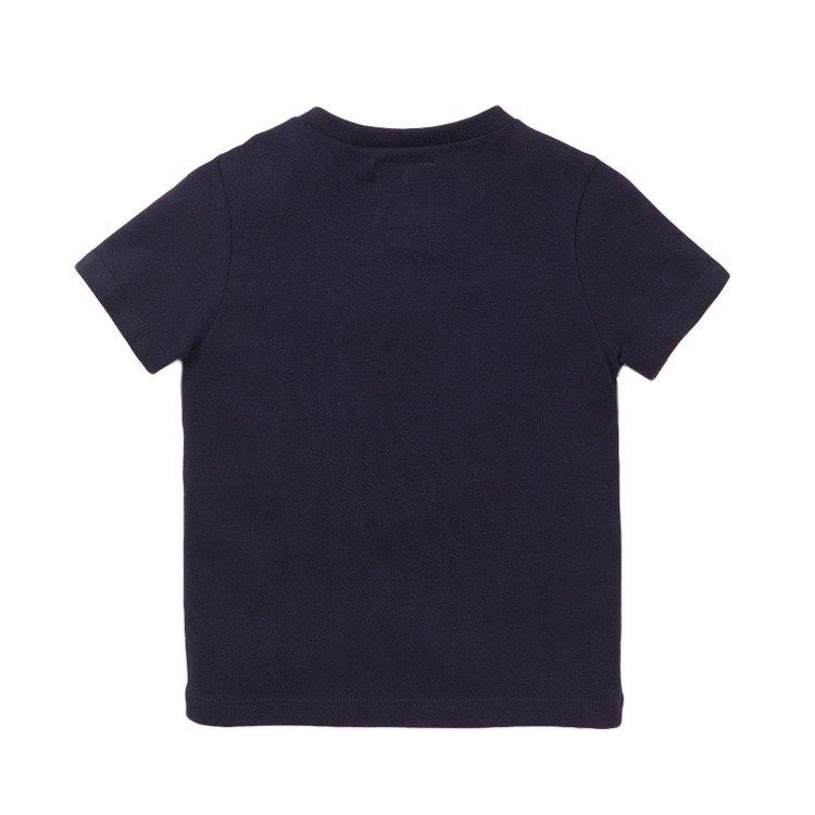 Koko Noko boys T-shirt navy stripe | E38817-37