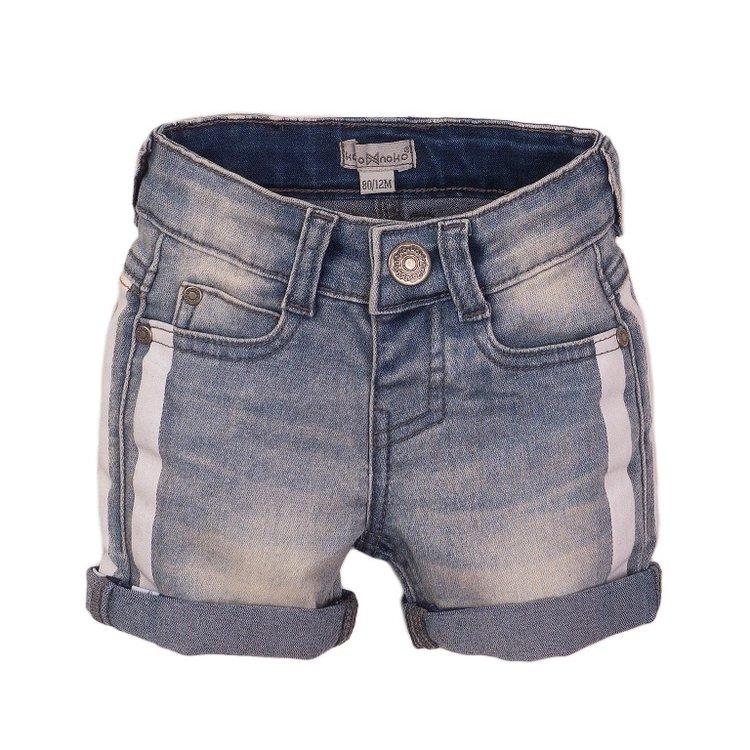 Koko Noko jongens jeans short blauw | E38818-37