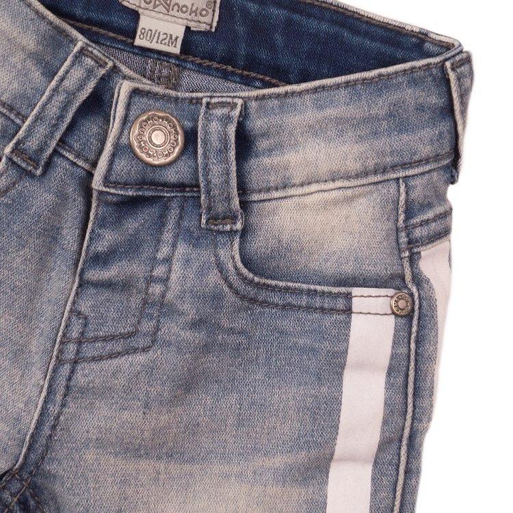 Koko Noko Jungen Jeans kurz blau | E38818-37