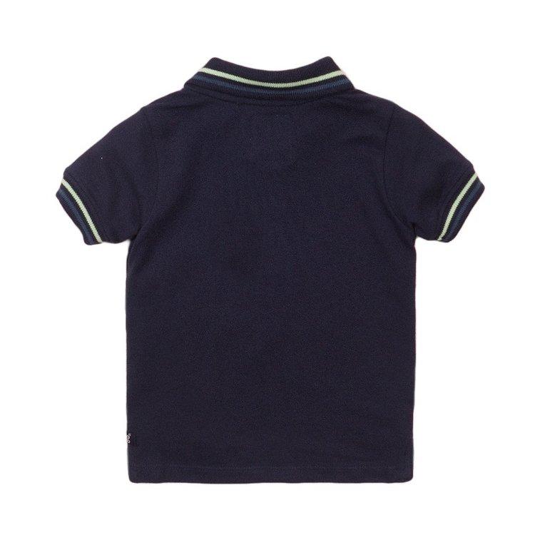 Koko Noko boys polo shirt navy | E38819-37