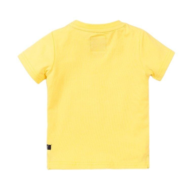 Koko Noko jongens T-shirt geel | E38823-37
