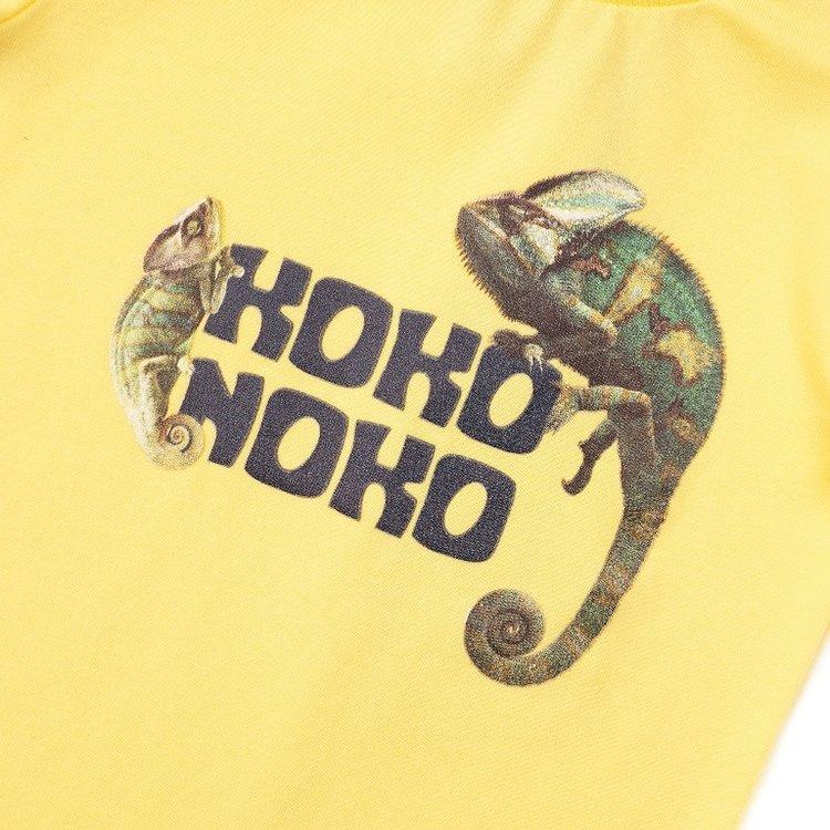 Koko Noko Jungen T-shirt gelb | E38823-37