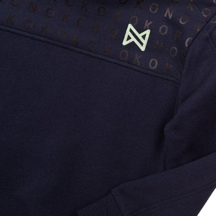 Koko Noko jongens sweater navy   E38825-37