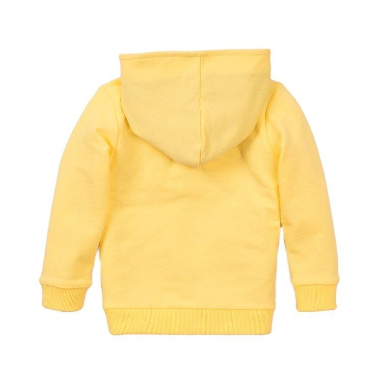 Koko Noko Jungen Pullover gelb mit Kapuze   E38830-37