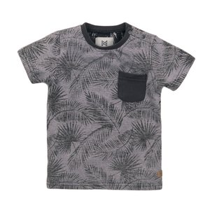 Koko Noko boys T-shirt grey print