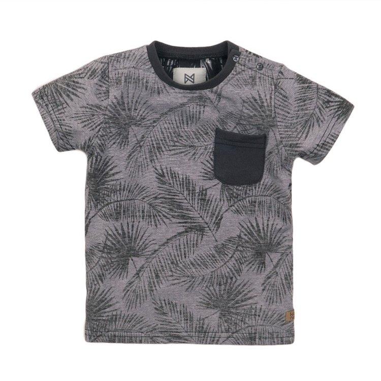 Koko Noko boys T-shirt grey print | E38834-37
