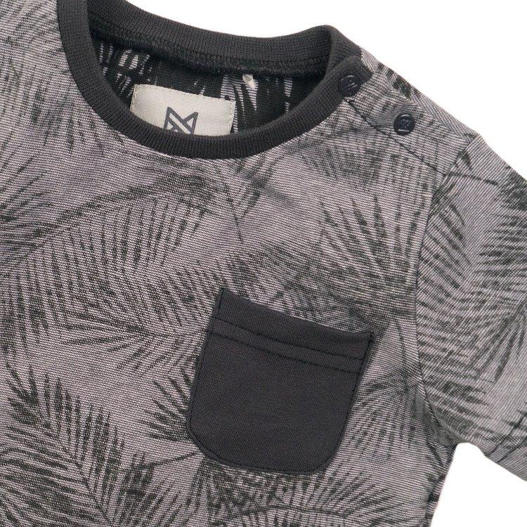 Koko Noko Jungen T-shirt grau drucken | E38834-37