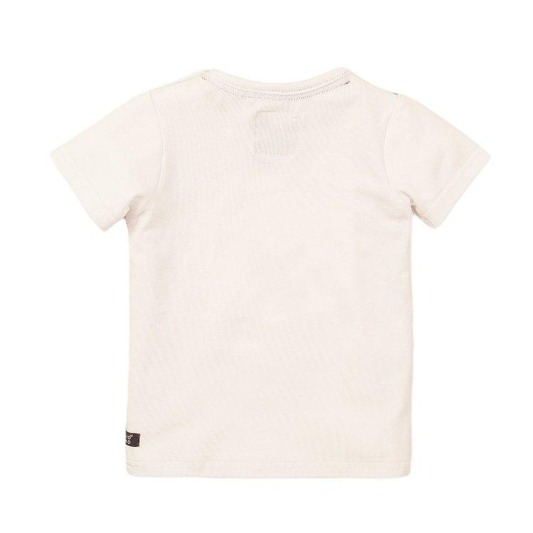 Koko Noko jongens T-shirt wit   E38836-37