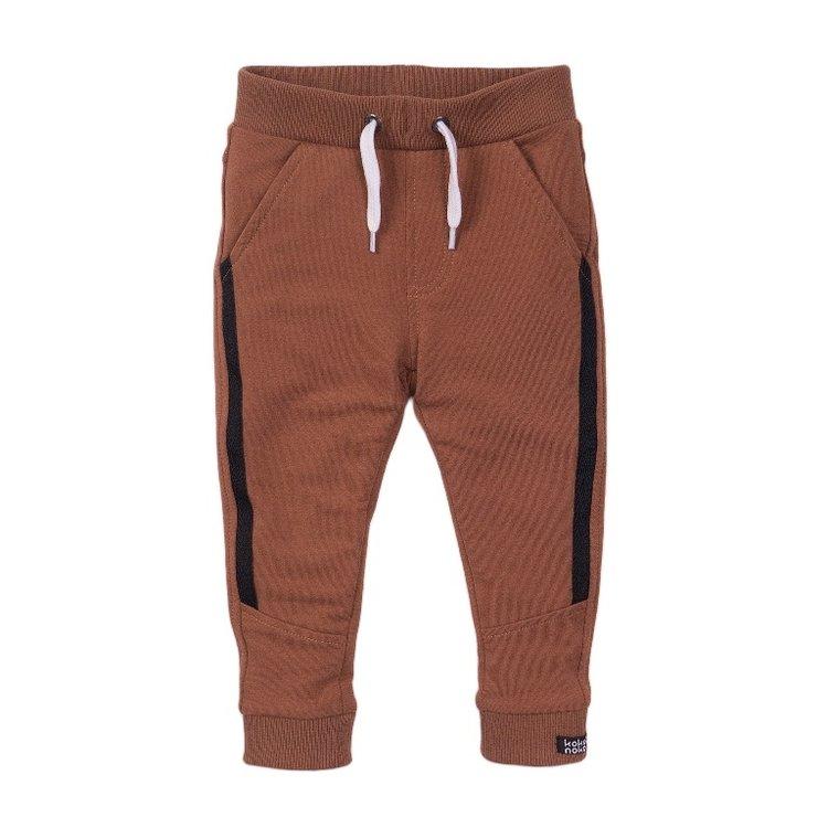 Koko Noko boys jogging trousers camel | E38837-37