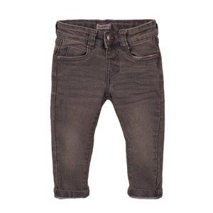 Koko Noko jongens jeans grijs met logo label