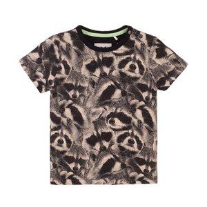 Koko Noko Jungen T-shirt grau Waschbär