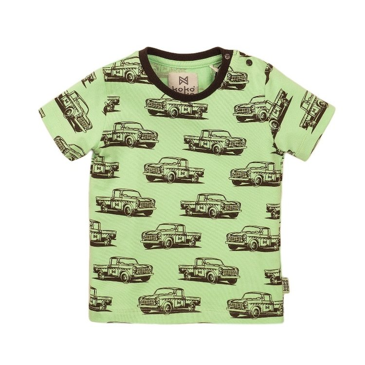 Koko Noko boys T-shirt green print | E38844-37
