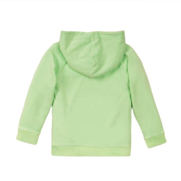 Koko Noko Jungen Pullover mit Kapuze grün | E38846-37