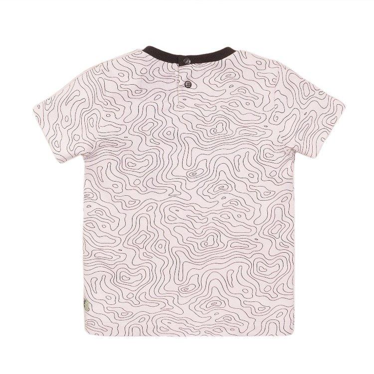 Koko Noko Jungen T-shirt weißer Druck | E38848-37