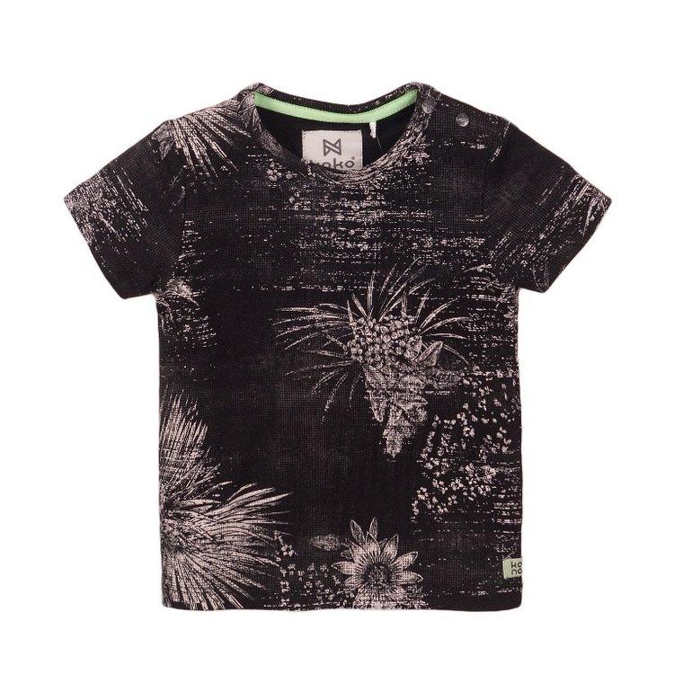 Koko Noko jongens T-shirt grijs   E38851-37