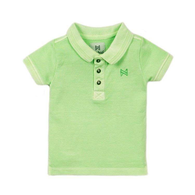 Koko Noko jongens poloshirt groen | E38853-37