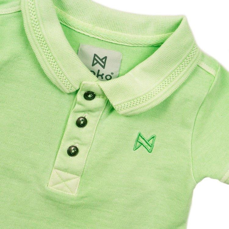 Koko Noko Jungen Poloshirt grün | E38853-37