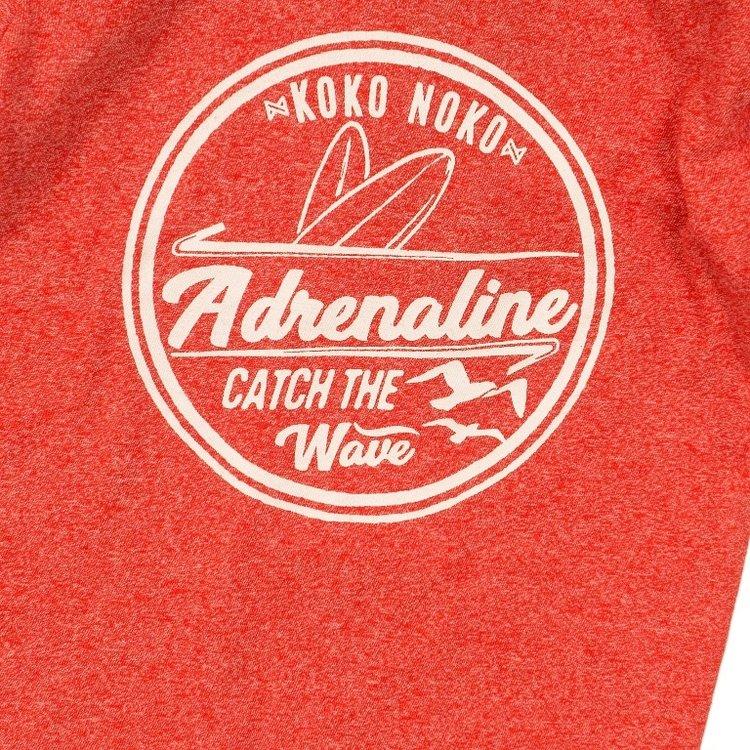 Koko Noko jongens T-shirt rood | E38855-37