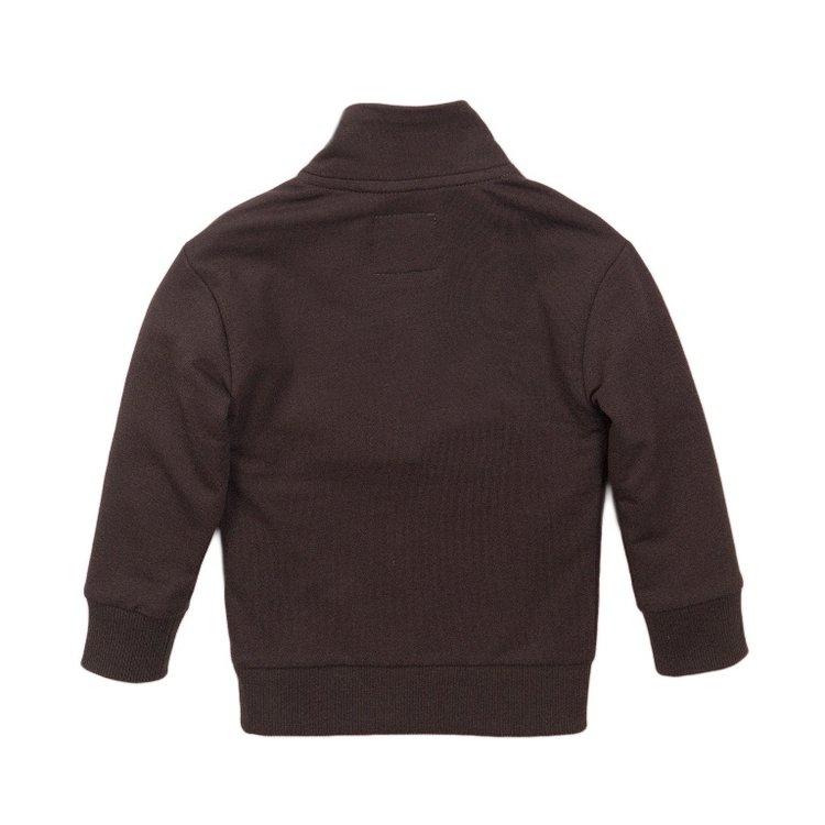 Koko Noko boys jumper grey red | E38858-37