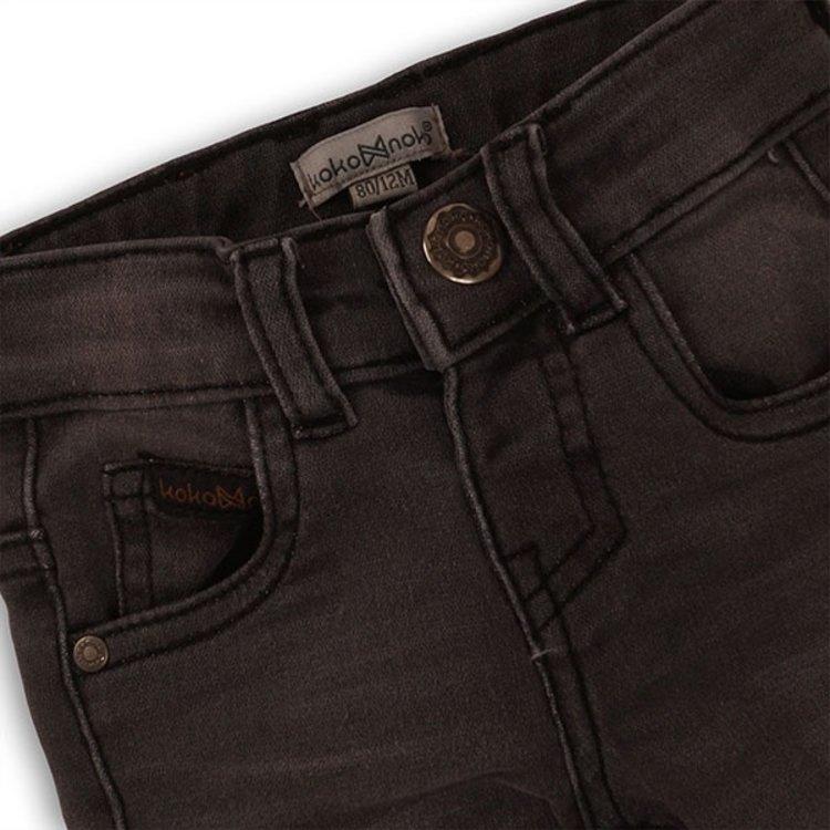 Koko Noko jongens jeans donker grijs | E34805-37WHS
