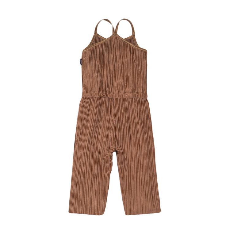 Koko Noko meisjes jumpsuit in camel | E38964-37