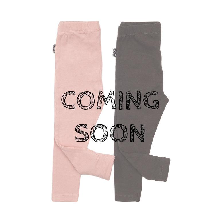 Koko Noko meisjes legging 2-pack donker grijs en roze   E38920-37