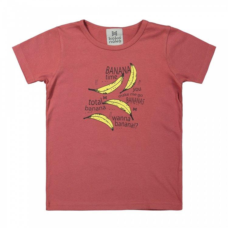 Koko Noko jongens T-shirt cayenne   X00012-37
