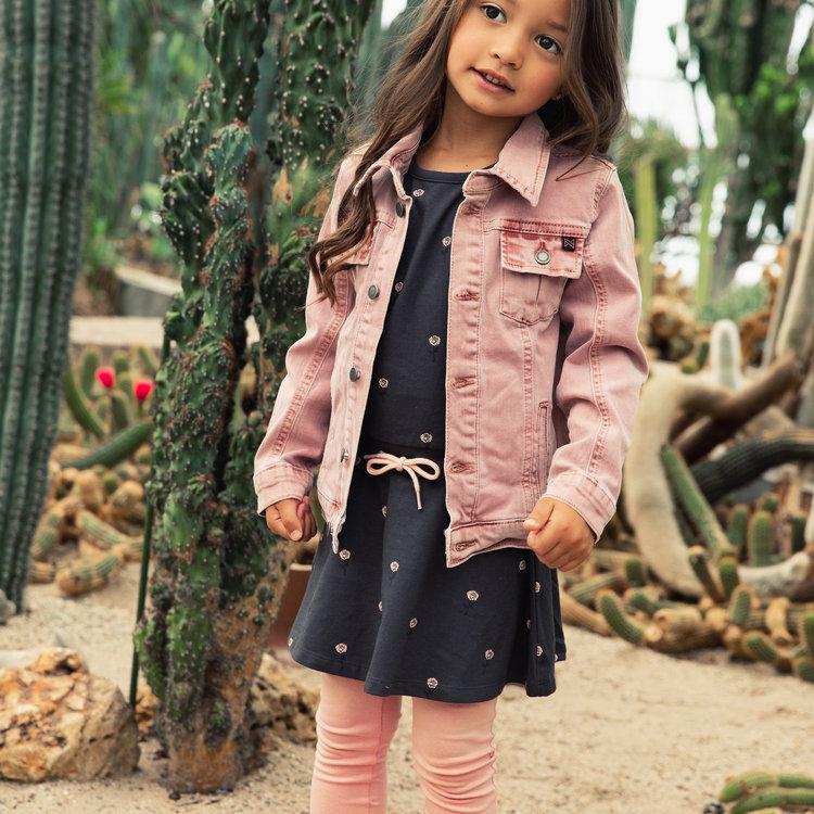 Koko Noko girls jeans jacket pink | E38902-37