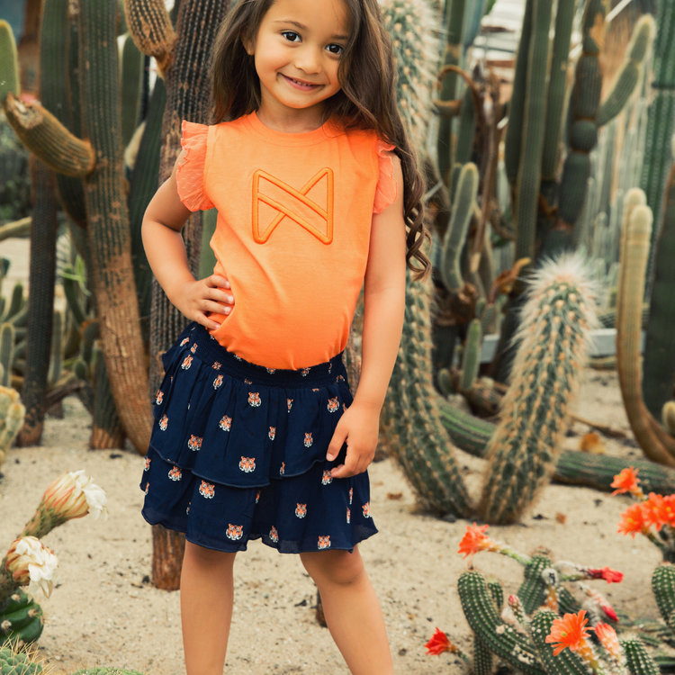 Koko Noko meisjes top oranje | E38954-37