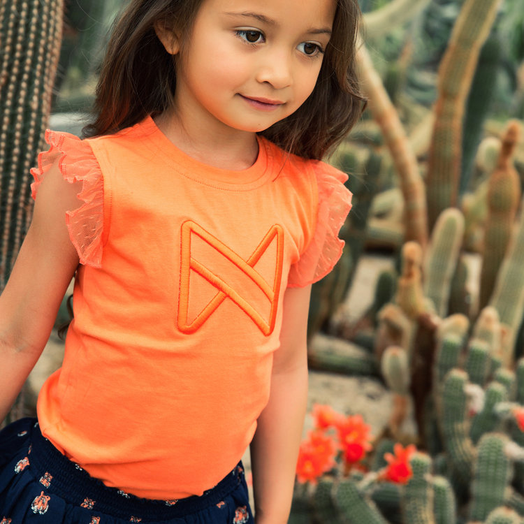 Koko Noko girls top orange | E38954-37
