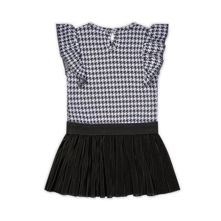 Koko Noko Mädchen Kleid pied-de-poule | E38924-37