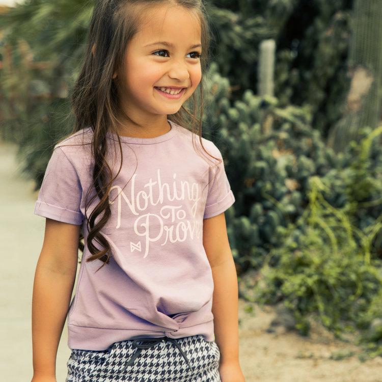 Koko Noko meisjes T-shirt lila | E38929-37