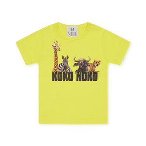 Koko Noko boys T-shirt yellow