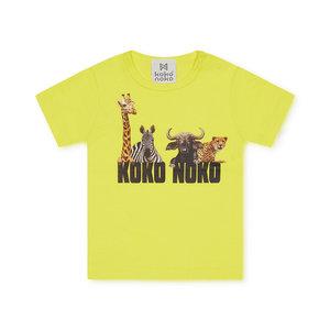 Koko Noko Jungen T-shirt gelb