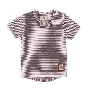 Koko Noko Jungen T-shirt grau gestreift