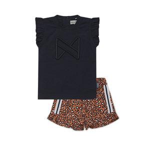 Koko Noko girls 2-piece set top and shorts
