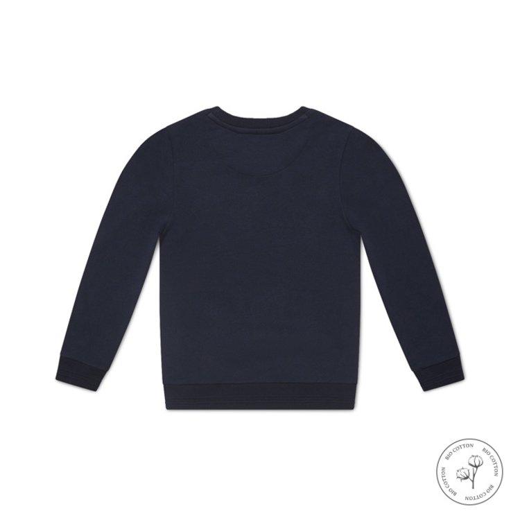 Koko Noko jongens sweater Neill donkerblauw   N800
