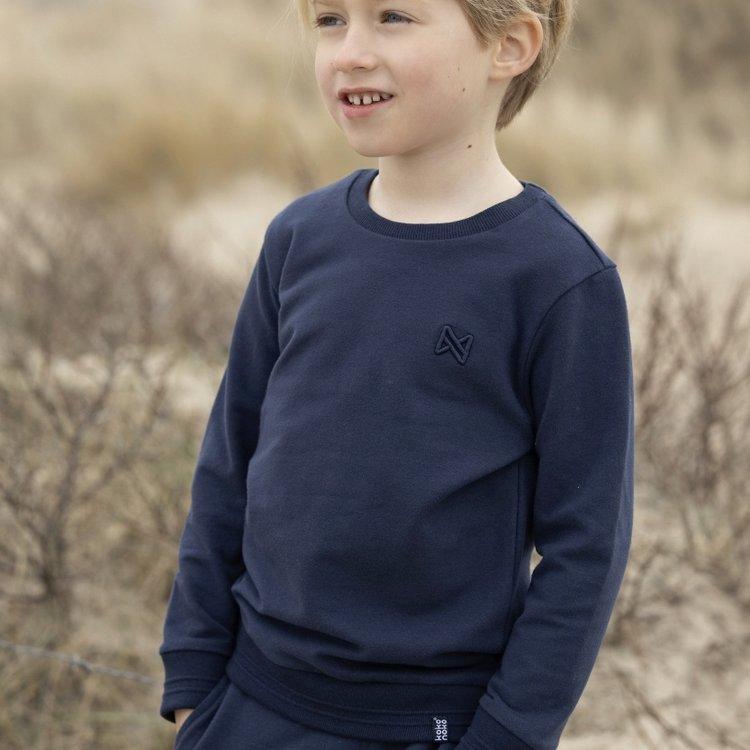 Koko Noko boys sweater Neill navy | N800
