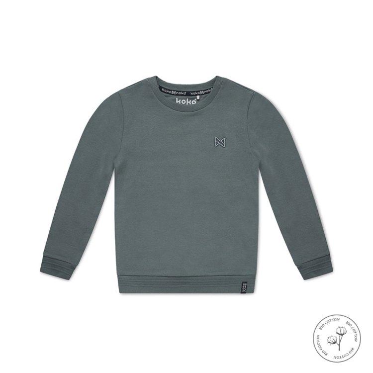 Koko Noko boys sweater Neill green | N802