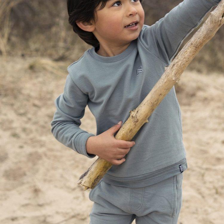 Koko Noko jongens sweater Neill groen   N802