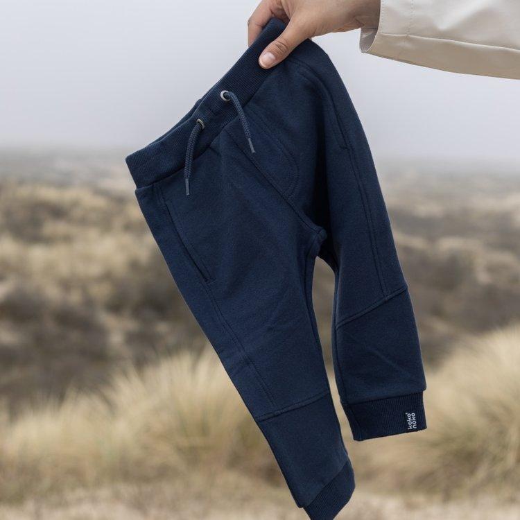 Koko Noko jongens joggingbroek Nick donkerblauw | N803