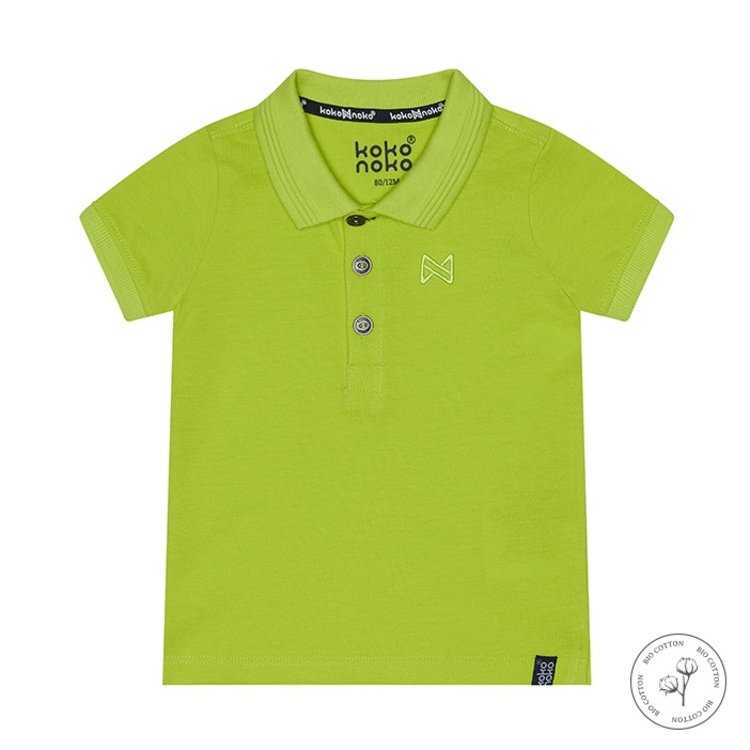 Koko Noko Poloshirt Noah für Jungen neongelb | N811