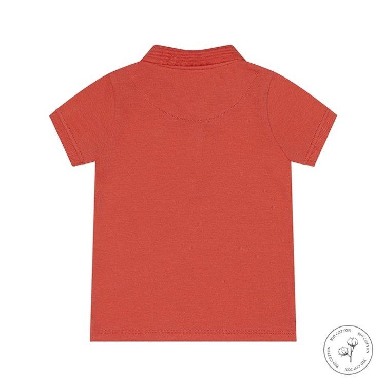 Koko Noko Poloshirt Noah für Jungen orangerot | N812