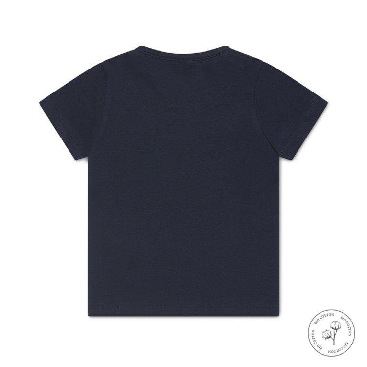 Koko Noko jongens T-shirt Nigel donkerblauw   N813