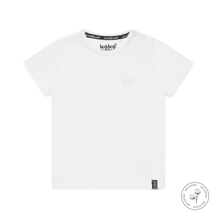 Koko Noko boys T-shirt Nigel white | N814
