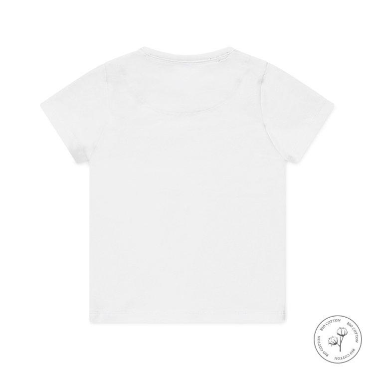 Koko Noko jongens T-shirt Nigel wit | N814