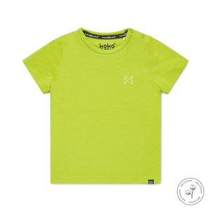 Koko Noko jongens T-shirt Nigel neon geel