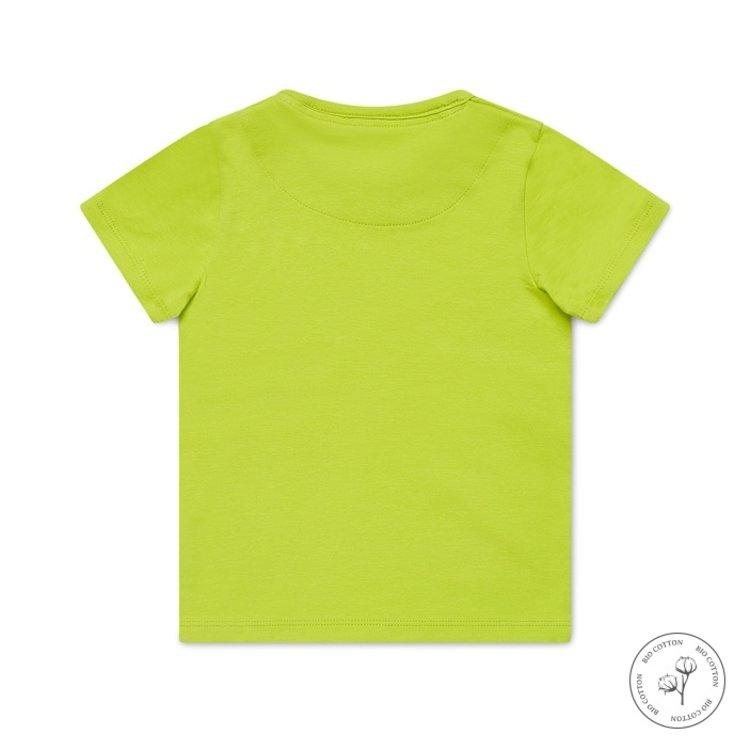 Koko Noko boys T-shirt Nigel neon yellow   N815