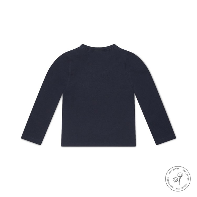 Koko Noko jongens shirt Nate donkerblauw   N817