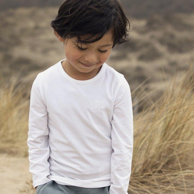 Koko Noko Shirt Nate für Jungen weiß | N818